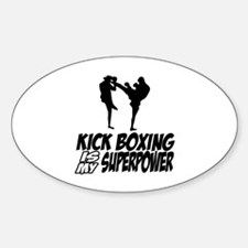 kickboxing is my superpower Decal