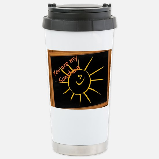 You are My Sunshine Stainless Steel Travel Mug