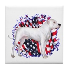 Dogo Patriot Tile Coaster
