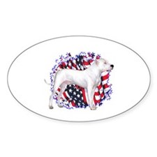 Dogo Patriot Oval Decal