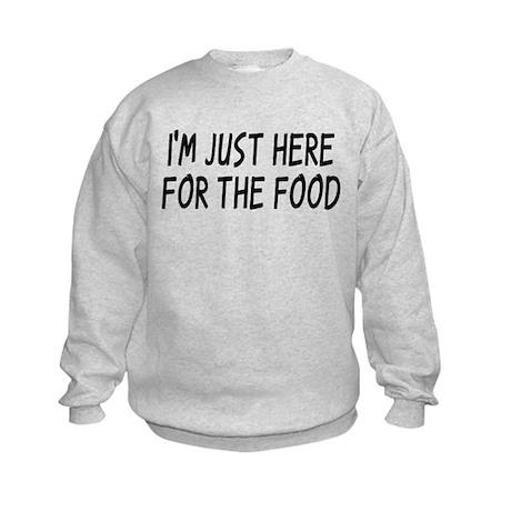 Where's The Food? Kids Sweatshirt