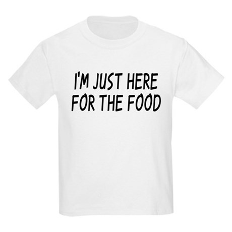 Where's The Food? Kids Light T-Shirt
