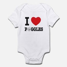 ILuvPuggles Infant Bodysuit
