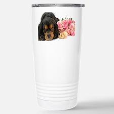 Black Cavalier King Cha Travel Mug