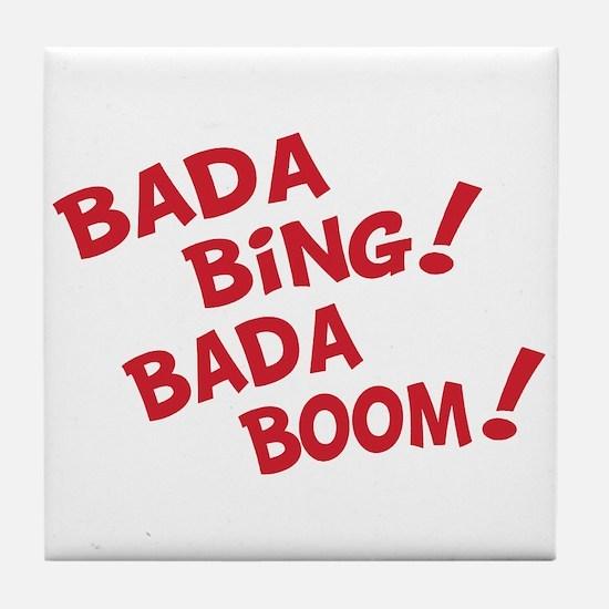 Bada Boom Tile Coaster
