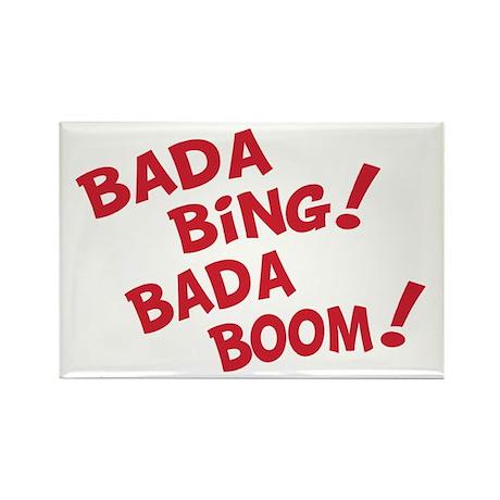 Bada Boom Rectangle Magnet (100 pack)