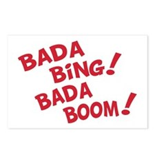Bada Boom Postcards (Package of 8)