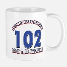 102 year old birthday designs Mug
