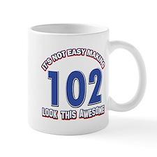 102 year old birthday designs Mug