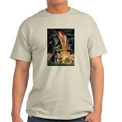 Fairies & Black Lab Light T-Shirt