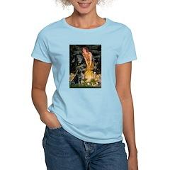 Fairies & Black Lab T-Shirt
