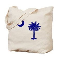 Palmetto and Crescent Tote Bag