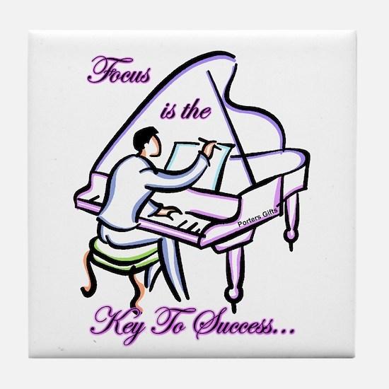 Piano / Music Tile Coaster