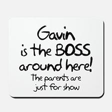 Gavin is the Boss Mousepad