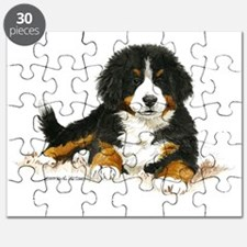 Bernese Mountain Dog Bright Eyes Puzzle