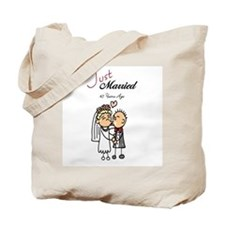 Just Married 45 years ago Tote Bag