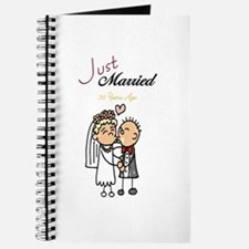 Just Married 50 years ago Journal