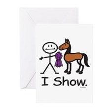 Horse Show Greeting Cards (Pk of 10)
