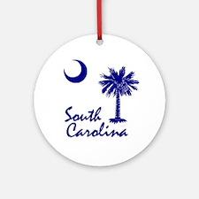 South Carolina Palmetto Ornament (Round)