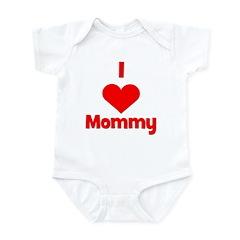 I love (heart) Mommy Infant Bodysuit