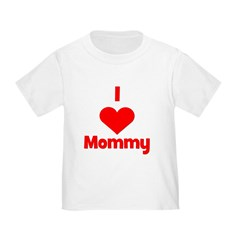 I love (heart) Mommy T