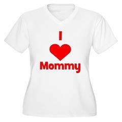 I love (heart) Mommy T-Shirt