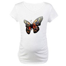 Elegant Colorful Butterfly Shirt