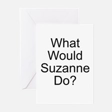What Would Suzanne Do? Greeting Cards (Package of