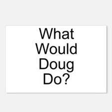 What Would Doug Do? Postcards (Package of 8)