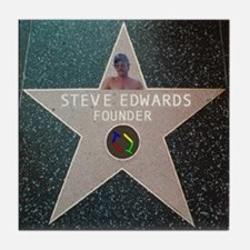 Steve Star of Fame Tile Coaster