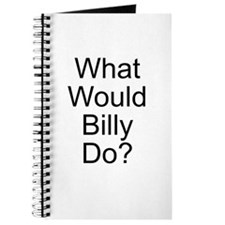 What Would Billy Do? Journal