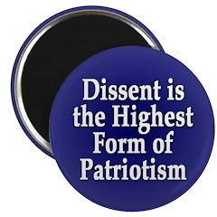 Dissent is Patriotism Magnet (100 pack)