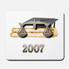 Law Grad 2007 Mousepad