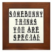 you are special Framed Tile