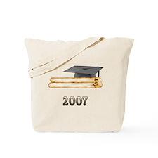 2007 Grad Tote Bag