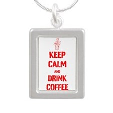 Keep Calm and Drink Coffee Necklaces
