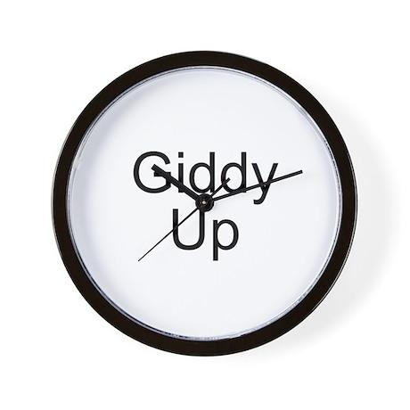 Giddy Up Wall Clock