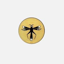 MIMBRES DRAGONFLY BOWL DESIGN Mini Button