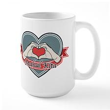 blue heart-Mahal Kita– Mug