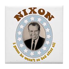 Bring Back Nixon Tile Drink Coaster