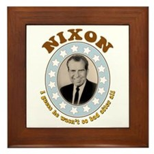 Bring Back Nixon Tile (Framed)