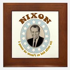 Bring Back Nixon Tile (Framed)
