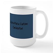 Whiteface Lutino Cockatiel Mug (15oz)