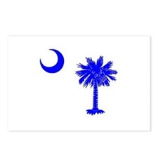 Palmetto and Crescent SC Postcards (Package of 8)