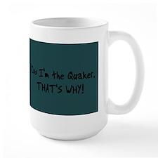 Blue Quaker Parakeet Mug (15oz)