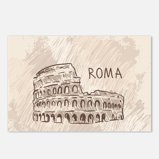 Rome Postcards (Package of 8)