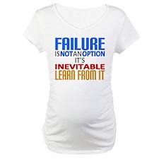 Failure Not Option Learn Shirt