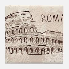 Rome Tile Coaster