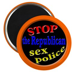 Stop the GOP Sex Police Magnet (10 pack)