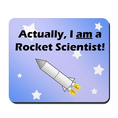 Rocket Scientist Mousepad